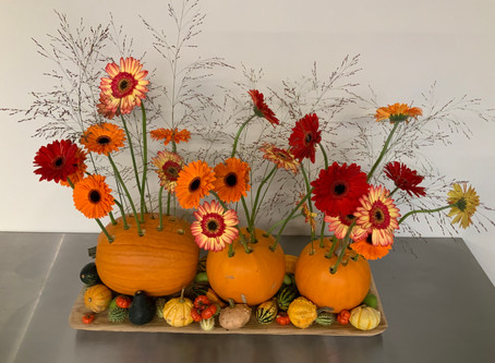 Fall Arrangements by Tiffany van Lenten: Flower Circus Online Show