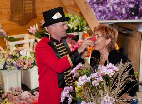 Tineke Geerlings Joins Flower Circus as a Flower Magician