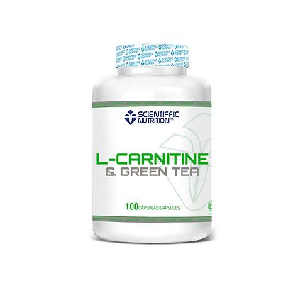 L-CARNITINE & GREEN TEA 100 CAPS
