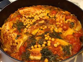 תבשיל דג אמנון (מושט) עם מלא ירקות!