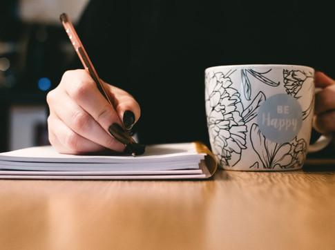 Por que você não começa a escrever agora