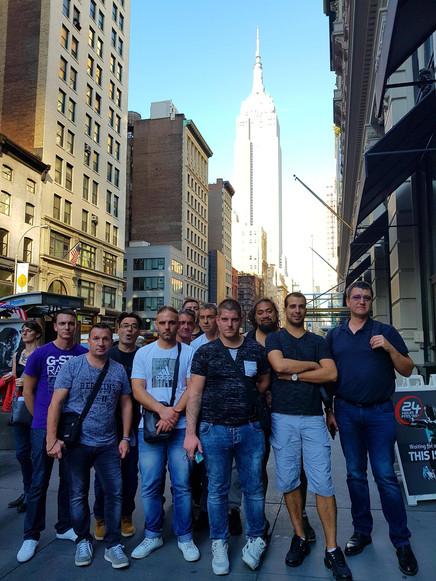 Les 15 ans de LUX DECOR PEINTURE à New York