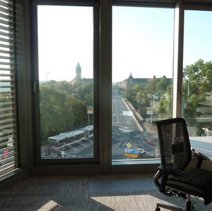 Banque ICBC : la plus belle vue sur le pont Adolphe