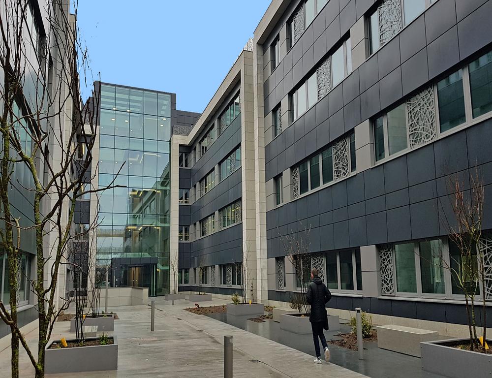 Rénovation des bureaux de Grant Thornton à Luxembourg