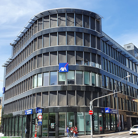 AXA remet à neuf son siège à Luxembourg
