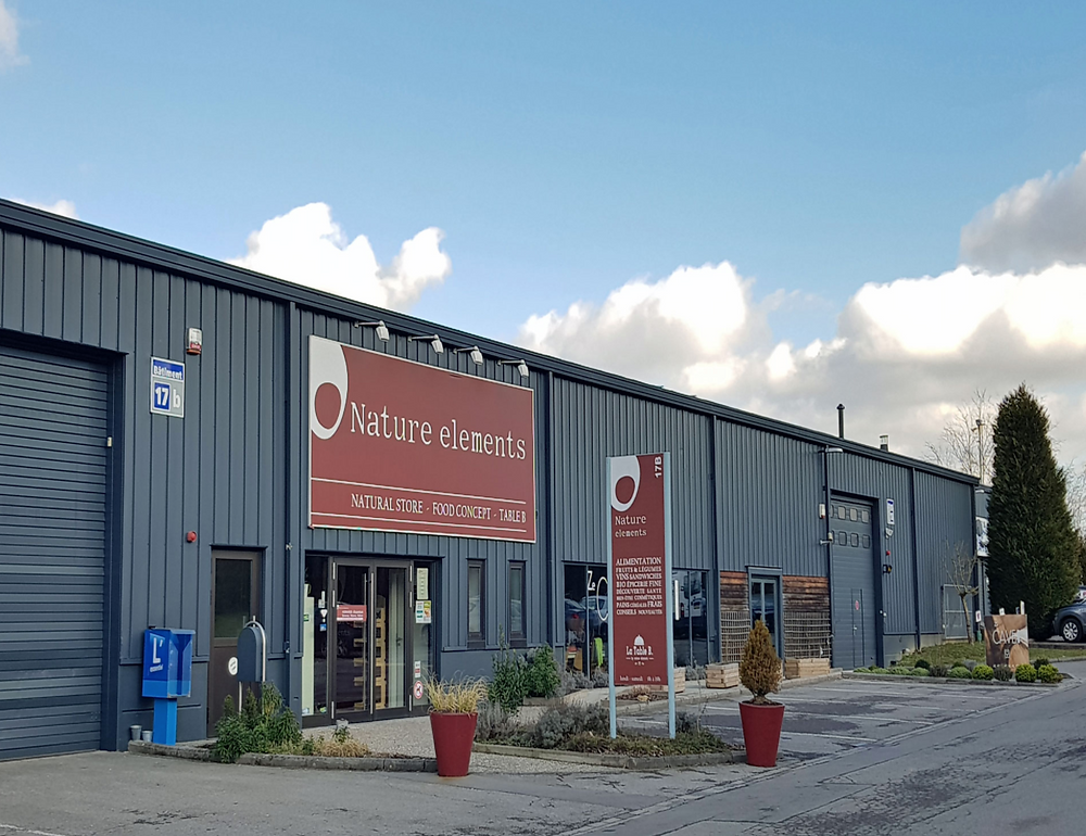 Rénovation d'une hall industrielle à Luxembourg
