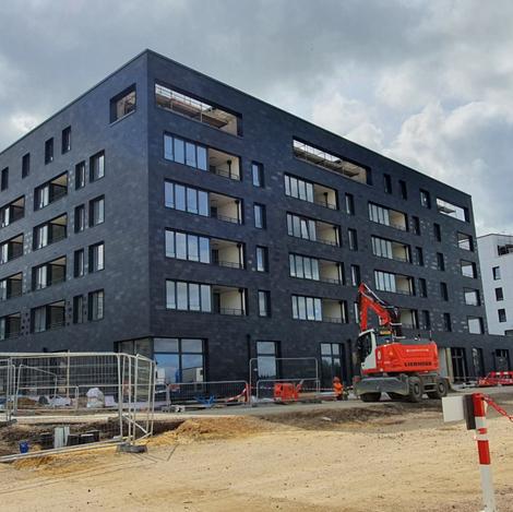 Mise en peinture de nouveaux appartements à Luxembourg