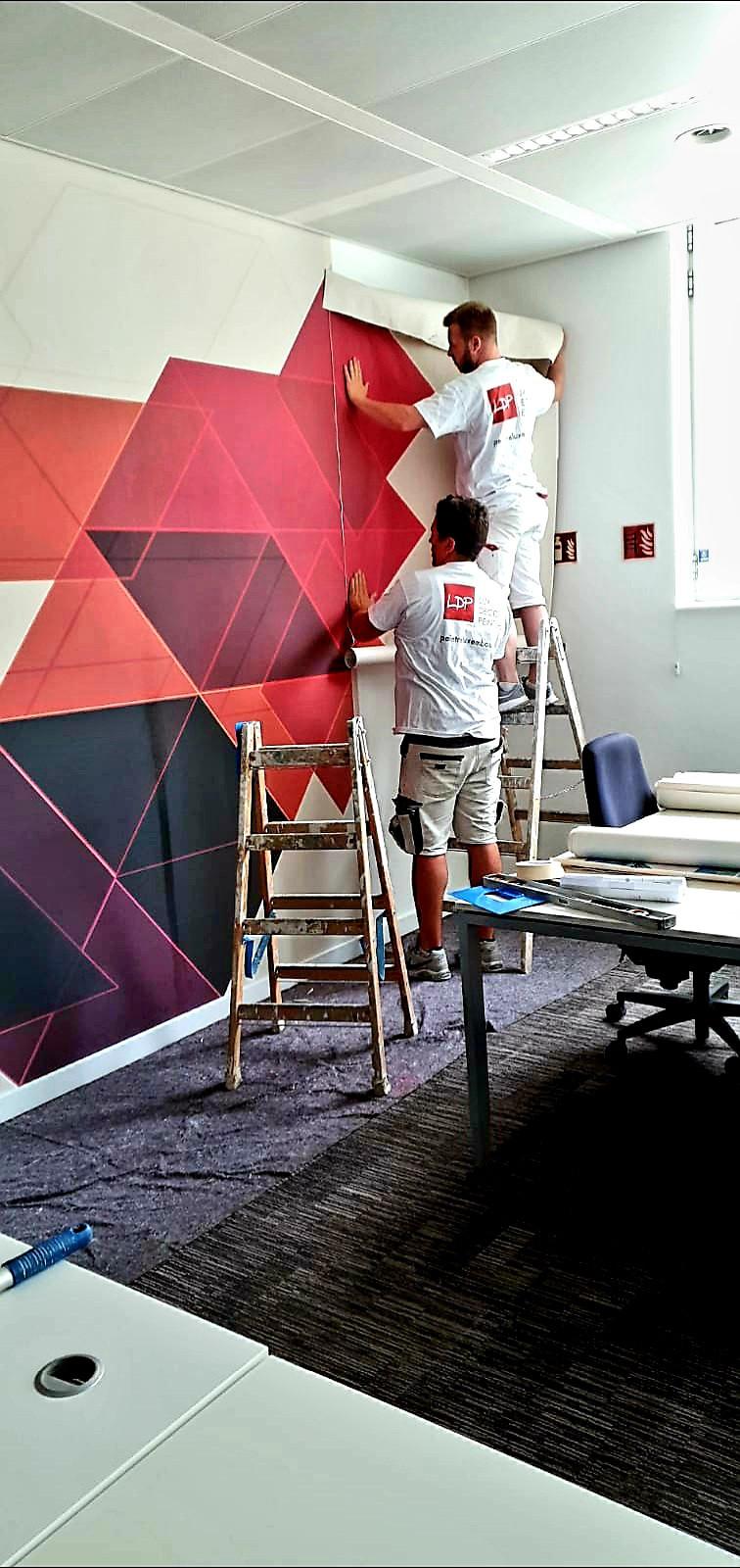Siège social AXA Luxembourg papier peint
