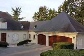 Mise en peinture façade maison d'habitat
