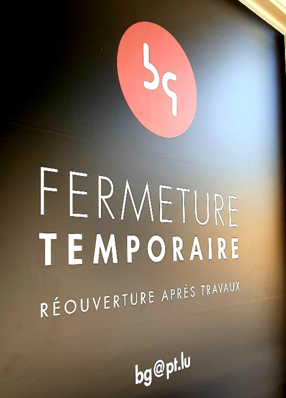 Rénovation de la Brasserie Guillaume à Luxembourgv