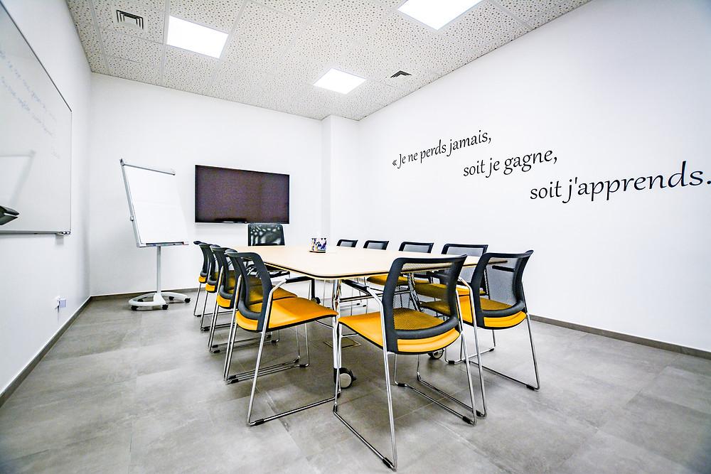 Mise en peinture agence de formation Soffia Luxembourg