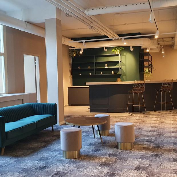 2 000 m² d'espace de coworking au Limpersberg