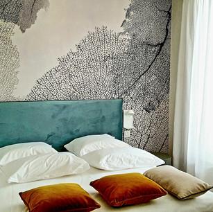 Décoration moderne et créative à The Central, 28 appart'hôtels, Luxembourg