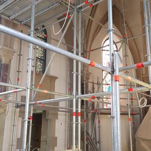Restauration de la chapelle, Givenich