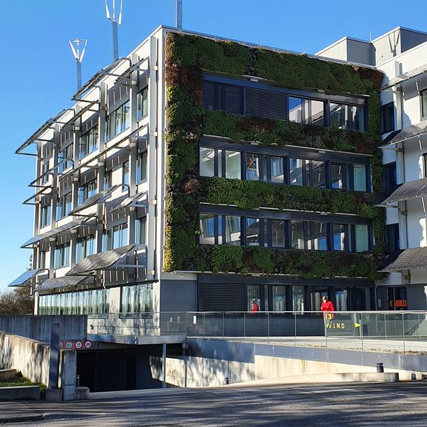 Solarwind, 1er bâtiment avec un triple certification écologique : BREEAM, HQE, DGNB