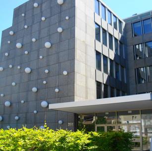 OPF : Façade emblématique de la route d'Arlon à Luxembourg