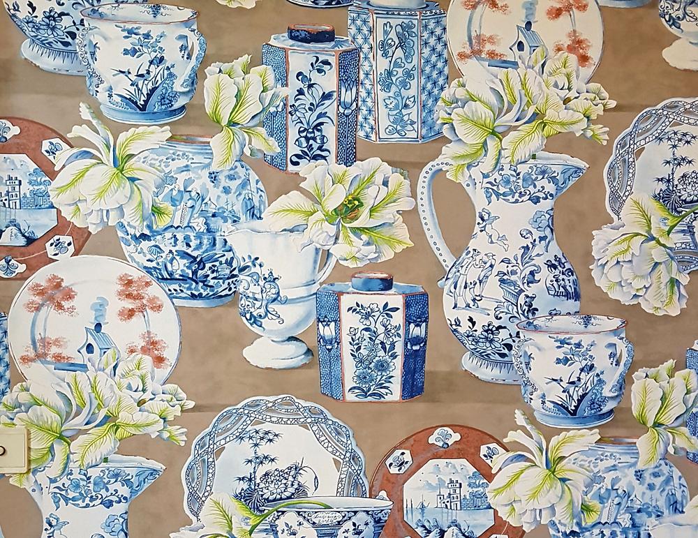 Papier peint comme décoration au Luxembourg