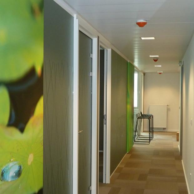 Stickers muraux pour raviver la décoration de bureaux