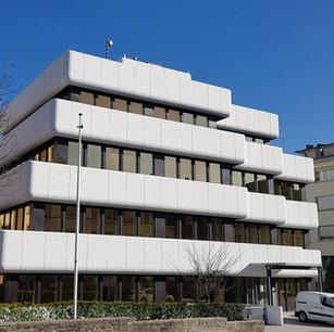 Façade classée, avenue G.-D. Charlotte, Luxembourg