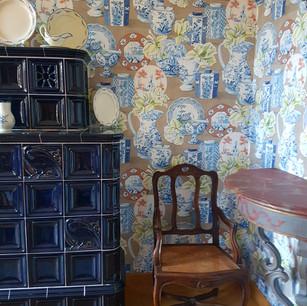 Harmonie papier-peint avec le mobilier