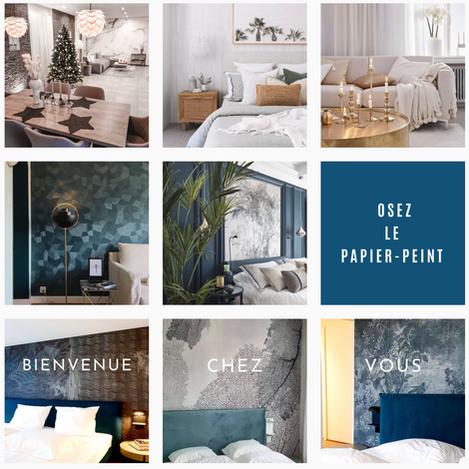 Inspirez-vous sur Instagram avec LUX DECOR PEINTURE