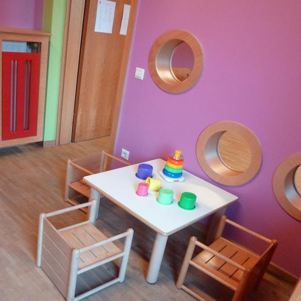 La maîtrise du langage des couleurs pour une crèche, Luxembourg