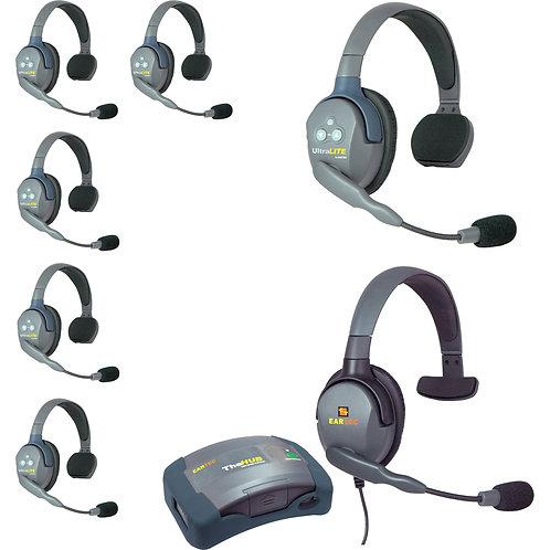 EarTec 7 Headset Wireless Intercom System