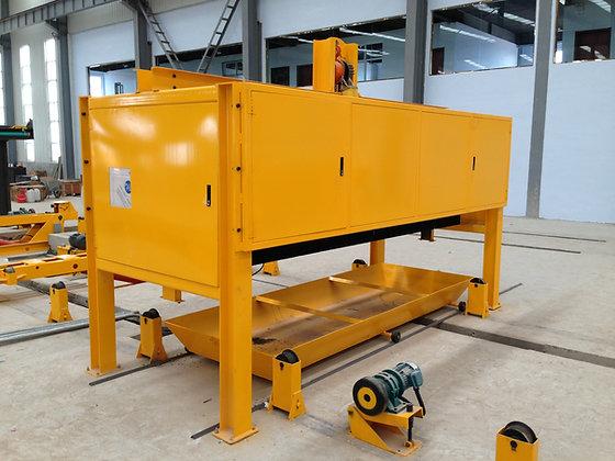 Pallet cleaning machine