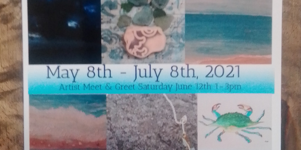 Along The Shores Art Exhibition at Queen Bee LLC Photography Studio and Gallery, West Branch Mall Michigan