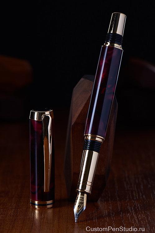 Ручка Sirius красный акрил