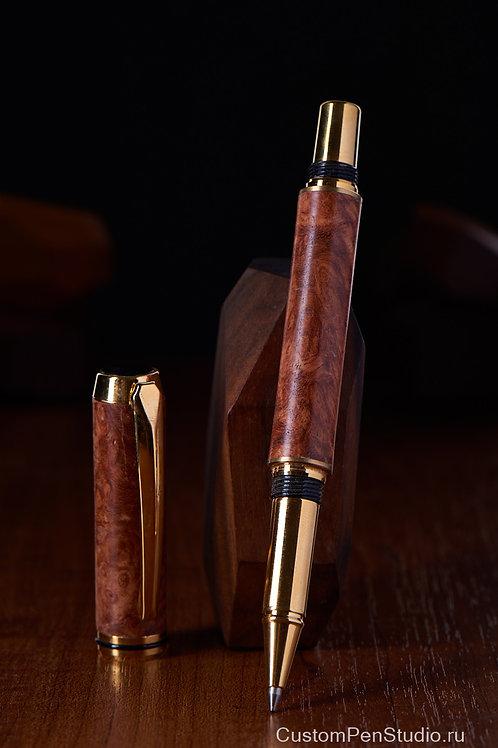 Ручка Sirius из капа амбойны