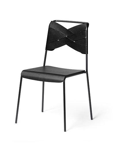 Chaise Torso noire - Design House Stockholm