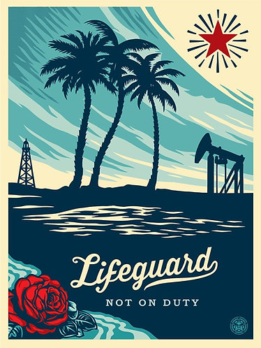 Lifeguard not on duty - OBEY