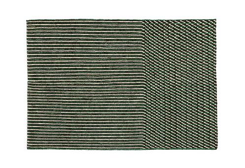 Tapis Blur vert, 170x240cm - Nanimarquina