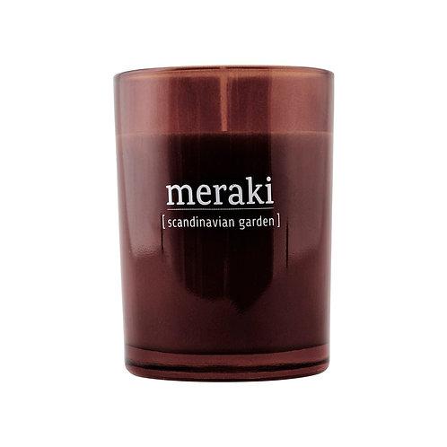 Bougie parfumée Jardin Scandinave - Meraki