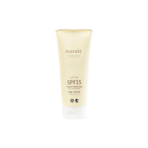 Crème solaire 200ml SPF15 Corps - Meraki