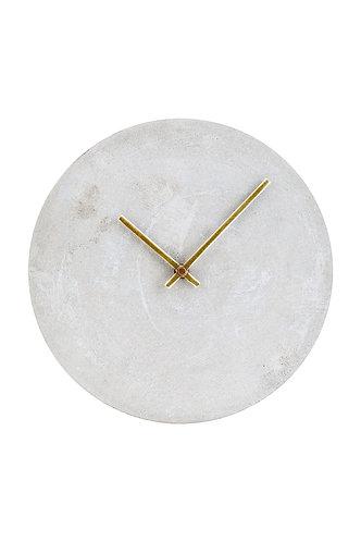 Horloge béton grise - House Doctor