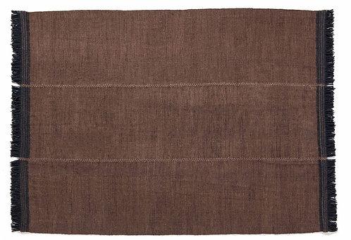 Tapis Mía brun, 200x300cm - Nanimarquina