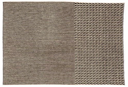 Tapis Blur noir, 200x300cm - Nanimarquina
