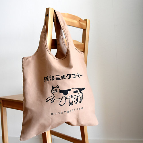 猫印ミルクコーヒー お遣い袋(エコバッグ)