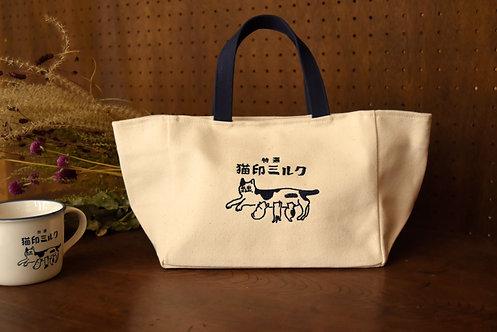 猫印ミルク ランチョントート【送料無料対象外】