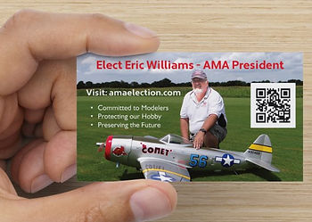 Academy of Model Aeronautics AMA Election