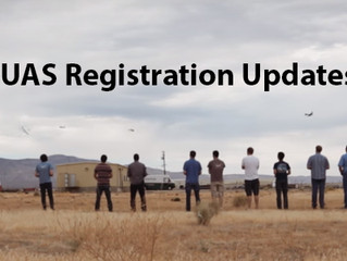 Update – UAS Registration
