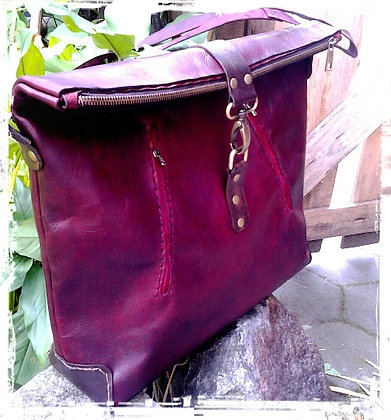 Red Winter Bag