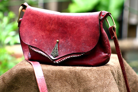Red Indian bag