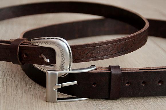 Etnik Silver Belt