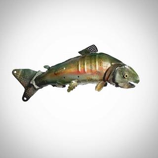 Rainbow Trout!! #avlart #avlartist #scul