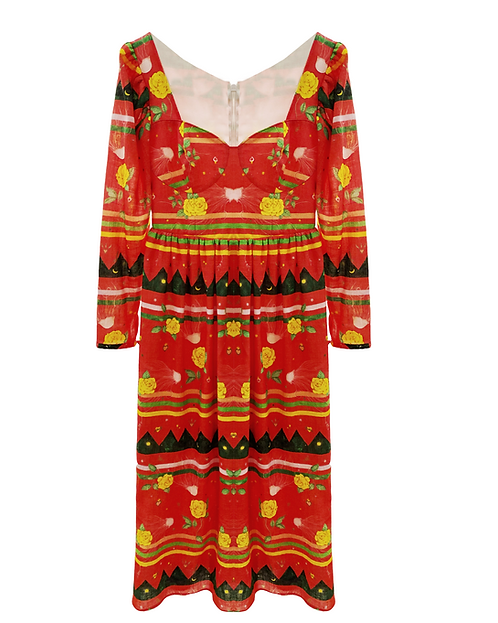 SAMPLE Gipsy Dress