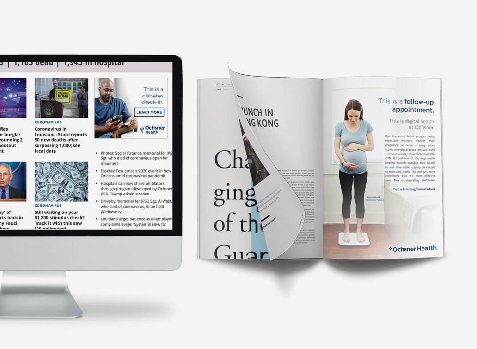 Ochsner Digital Medicine Campaign Assets