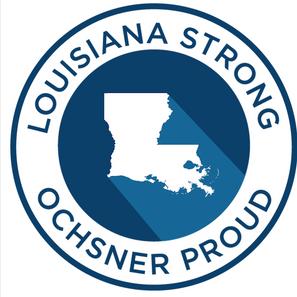 Louisiana Strong Ochsner Proud